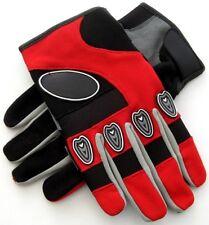 Freizeit-Winterhandschuhe, Motorrad-Sommerhandschuhe L rot-grau-schwarz