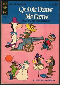 Gold Key QUICK-DRAW MCGRAW #14, 1963, FN-, Hanna-Barbera, NR!