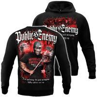 PUBLIC ENEMY Mens Sweatshirt Hoodie Hodded Bluza Poland Hooligans Ilu wrogów