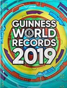 Guinness World Records 2019 Par Records, Couverture Rigide Used Livre , Très