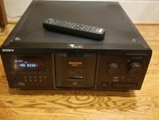 Sony CDP-CX335 CD 300 Mega Storage Compact Disc Changer Includes Remote