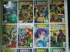 Birds of Prey lot from:#2-115 + Specials, 81 Different, 8.0 VF (1999-2006)