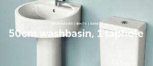 Ideal Standard 50cm washbasin 1 tap hole E000701