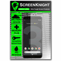 ScreenKnight Google Pixel 3 - SCREEN PROTECTOR - Military Shield