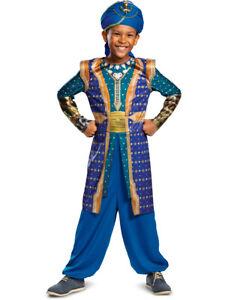 Aladdin-GENIE-Arabian Prince-Panto-Stadio Completo Costume Tutte Le Età