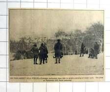 1927 Toboggan Enthusiasts Enjoying Parliament Hill Fields