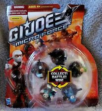 GI JOE MICRO FORCE 2012 SERIES 1 SET #10