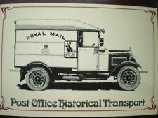 POSTCARD ROYAL MAIL MORRIS COMMERCIAL VAN POST OFFICE HISTORICAL TRANSPORT -
