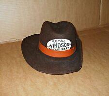 bc1808bca Vintage Windsor Safari Park Hat - Theme Park Memorabilia
