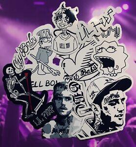 Lil Peep Sticker Pack Waterproof Vinyl