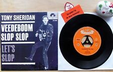 TONY SHERIDAN AND THE BEAT BROTHERS VEEDEBOOM SLOP SLOP★Let`s Slop★Polyd. 52 099