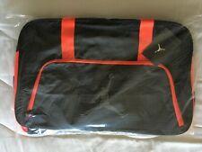 6ea9c91f032e Air Jordan Jumpman Duffle Bag Black with Red Orange accents 656912-010 One  Size