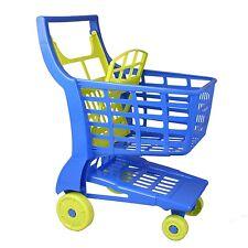 Androni 354 Kinder Einkaufswagen Einkaufskorb zu Kaufladen BLAU