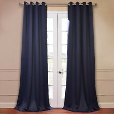 "2 PANELS SILVER GROMMET THERMAL LINED BLACKOUT WINDOW CURTAIN DRAPE 55""X108"" K60"