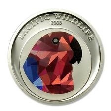 Palau Prism Rainbow Lorikeet 2006 One Dollar Crown BU