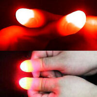 1Pair Magic Super Bright Light Up Thumbs Fingers Trick Appearing Light Close Up