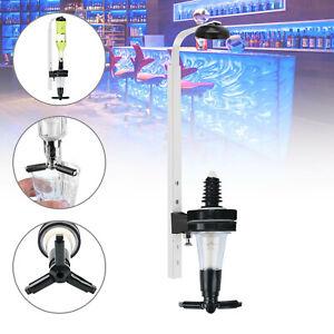 1 Bottle Dispenser Wall Solo Bar Drink Optic Spirit Measure Pub Dispenser 25ml