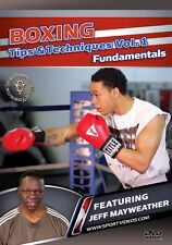 Boxing Tips and Techniques - Fundamentals DVD - Jeff Mayweather - Free Shipping