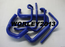 Blue silicone radiator heater hose for Statesman WH Gen3 LS1 5.7L V8 engine