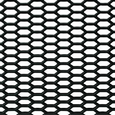"""Car Truck Mesh Grille Honeycomb ABS Plastic For Body Kit Vents 46.5""""x15.5"""" Sheet"""