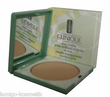 CLINIQUE stay-matte sheer pressed powder oil-free 7,6g. 101 invisible matte