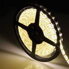 Warm White 5M Waterproof 300 LED 5050 SMD Flexible Cuttable Light Lamp Strip 12V