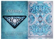 1 DECK Bicycle Ellusionist Fathom Playing Cards NEW Sealed-S1032240275-5