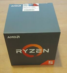 AMD Ryzen 5 1600 - 3.2GHz - 6 Cores - AM4 - CPU - YD1600BBAFBOX - w/ peripherals