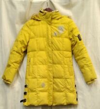 Huiyan Snow Jacket Yellow Long With Snowflake Accents XSmall US Juniors Girls