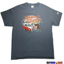 Volkswagen Van Men Blue T Shirt Backcountry Life Saving Summer Tour Size L