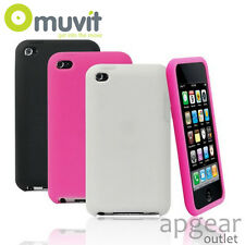Original Muvit Apple iPod Touch 3 Farben Gummi mucmpruipt 4g001 Handy Hülle Cover