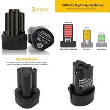2 Packs Eagglew 10 8v 3 0ah Li-ion remplacement Batterie pour Makita Bl1013 Bl1
