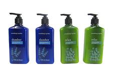 April Bath & Shower Aromatherapy Slumber & Relax Set Body Lotions(2 Set/4 Total)