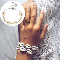 Bohemia Handmade Shell Bracelet Womens Jewelry Summer Beach Cuff Charm'Brace ÁÁ