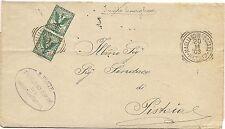 P8615  Grosseto, Magliano in Toscana, annullo tondo riquadrato, 1903