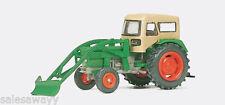 Preiser 17923 tractor agrícola DEUTZ D 6206 con BAAS Cargador, H0