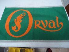Tapis de bar en coton à l'éfigie de la bière d'Orval