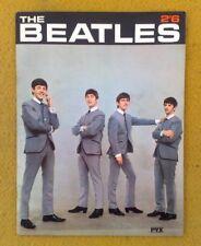 Hervorragender '63 UK Pvx Beatles Buch mit 'Lost' Dezo Hoffman Bilder