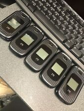 LOT OF 5 FAIR AT&T ZTE Z223 FLIP PHONE RUGGED Lock Don't Know To What Company