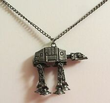 """STAR WARS AT-AT WALKER PENDANT NECKLACE NEW 18"""" - 21"""""""