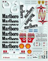 Carpena decals for cars 1/18 - Marlboro  (Ref DEC11838)