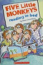 Five Little Monkeys Reading in Bed by Eileen Christelow (2007, Paperback)