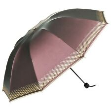 Elegant Sun Compact Umbrella Rain Windproof Heavy Duty Compact Travel Folding