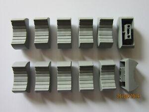 12+ GREY mixer Disco EQ slide fader knob - 4mm fix - Sifam/Rean NOS