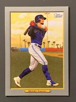 2020 Topps Series 1 #TR-90 Cavan Biggio Turkey Red SP Toronto Blue Jays