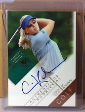 New listing 2003 SP AUTHENTIC SIGNATURE ROOKIES #126 CARIN KOCH 1004/1999