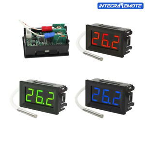 K-type DC 12V Thermocouple Digital LED Diaplay Thermometer Probe Sensor XH-B310