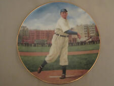 CY YOUNG: THE PERFECT GAME collector plate LEGENDS OF BASEBALL Delphi BARSON