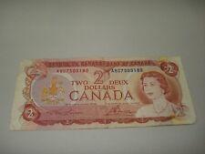 1974 - Canada $2 bill - Canadian two dollar note - ABC7505180