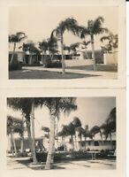 WWII 1943 USAAF Dorr Field, Arcadia FL Cadet Pilot's 2 Photos Mess Hall